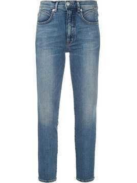 Adaptation logo patch skinny jeans - Blue