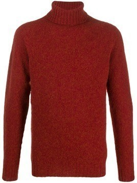 Howlin' Slyvester knitted roll-neck jumper - Red