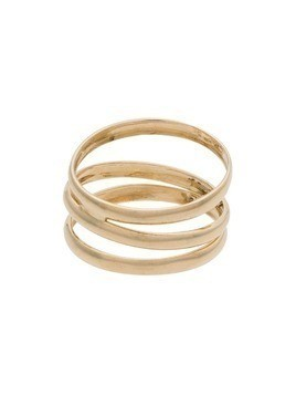 Loren Stewart 14k yellow gold trinity band ring
