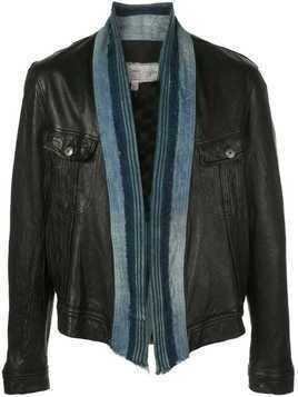 Greg Lauren leather jacket - Black