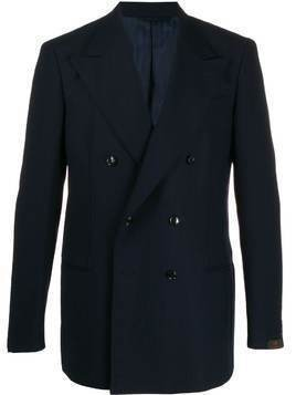 MP Massimo Piombo Helmut double-breasted blazer - Blue