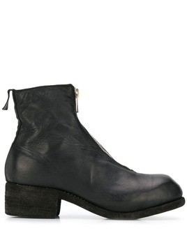 Guidi zip detail boots - Black