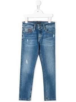Tommy Hilfiger Junior straight-fit jeans - Blue