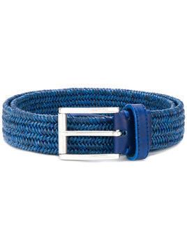 Jacob Cohen - woven belt - Herren - Leather - 90 - Blue
