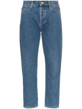 Goldsign the low slung clean set of pockets jeans - Blue