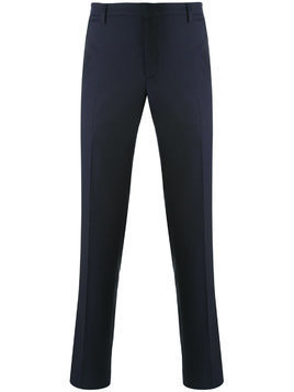 Aiezen front crease trousers - Blue