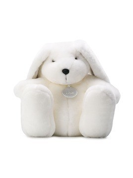 Baby Dior soft rabbit toy - White