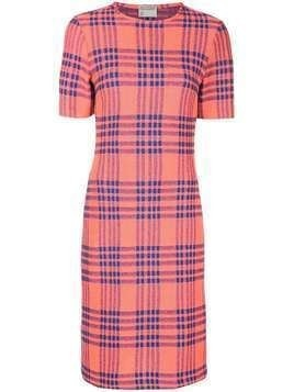 Cynthia Rowley plaid midi dress - Pink