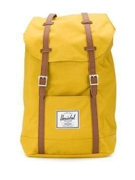 Herschel Supply Co. Retreat contrasting strap backpack - Yellow