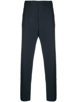 Mauro Grifoni elasticated waist track trousers - Blue