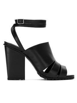 Studio Chofakian chunky 85mm sandals - Black