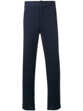 Harris Wharf London mid rise tapered trousers - Blue