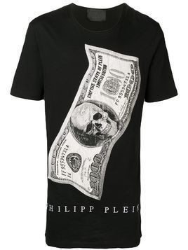 Philipp Plein Dollar round neck T-shirt - Black