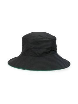 Hermès Pre-Owned quilted details bucket hat - Blue