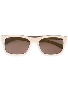 Gold And Wood 'Twenty' sunglasses - NEUTRALS