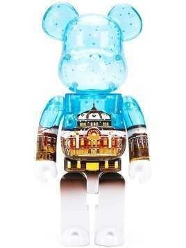 Medicom Toy Snow Version Bearbrick toy - Blue