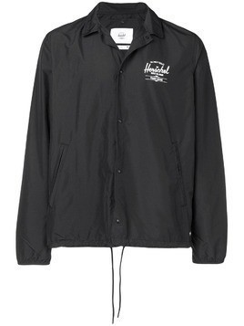 Herschel Supply Co. buttoned wind breaker jacket - Black
