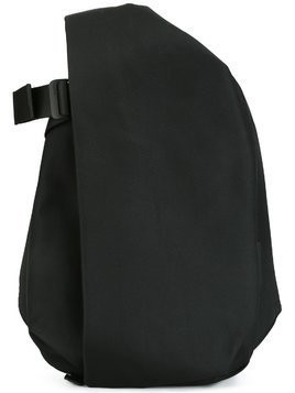 Côte&Ciel medium flat front backpack - Black