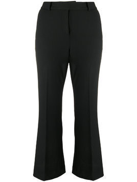 Michael Michael Kors cropped bootcut trousers - Black