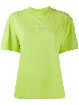 Acne Studios boxy fit T-shirt - Green