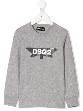 Dsquared2 Kids long-sleeve T-shirt - Grey