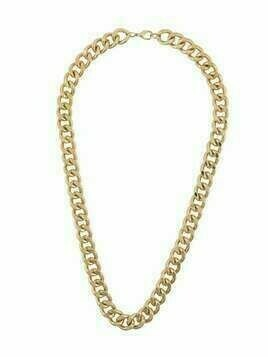 Susan Caplan Vintage 1990s chunky-chain necklace - GOLD