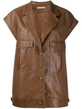 Nehera Lodes leather jacket - Brown