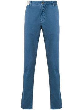 Incotex - casual chinos - Herren - Cotton/Spandex/Elastane - 32 - Blue