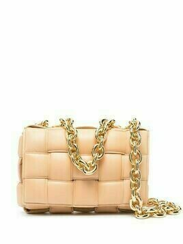 Bottega Veneta The Chain Cassette shoulder bag - Neutrals