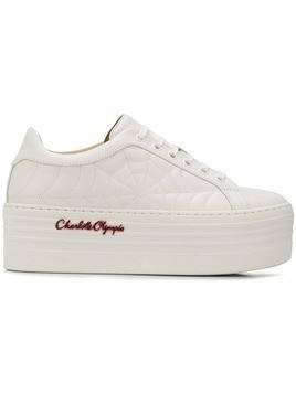 Charlotte Olympia Ace sneakers - White