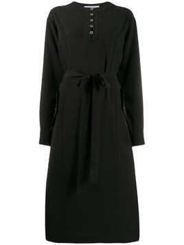 Julien David belted shift dress - Black