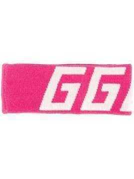 Golden Goose Deluxe Brand logo head band - Pink