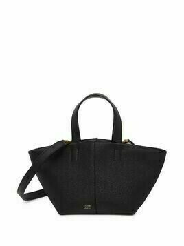 Mansur Gavriel Mini Tulipano leather bag - Black
