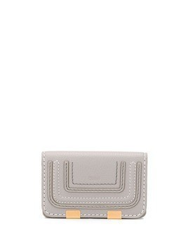 Chloé foldover purse - Grey