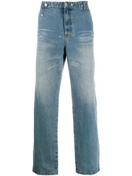 Ader Error phantom z jeans - Blue