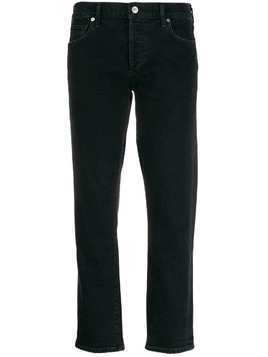 Citizens Of Humanity slim fit cropped jeans - Black