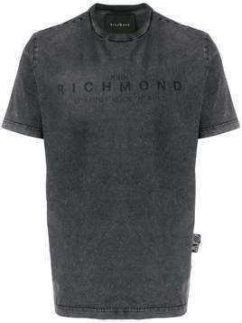 John Richmond logo-print T-shirt - Grey