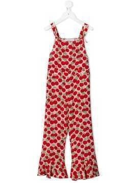 Stella McCartney Kids Cherry jumpsuit - PINK