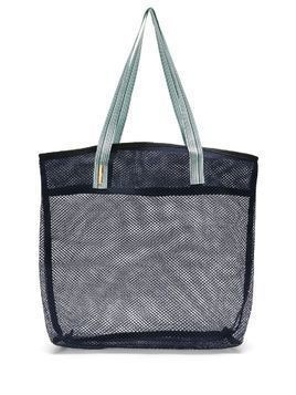 Sarah Chofakian mesh shopper bag - Blue