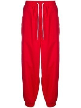 a1d72dc66 Calvin Klein Jeans loose-fit logo track pants - Red