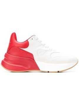 Alexander McQueen ALEXANDER MCQUEEN 533709WHRU3 9092 WHITE RED Leather/Leather/Rubber