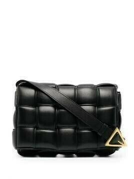 Bottega Veneta Cassette leather shoulder bag - Black