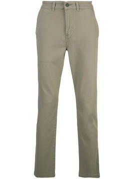 Hudson straight-leg chinos - Green