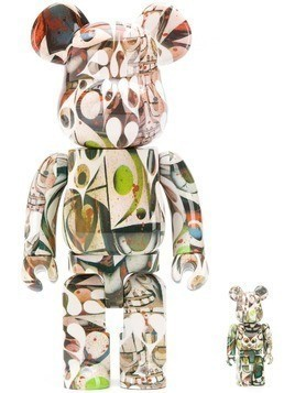 Medicom Toy x Phil Frost Be@rbrick toy - Neutrals