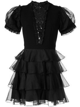 Macgraw Chapter ruffled dress - Black