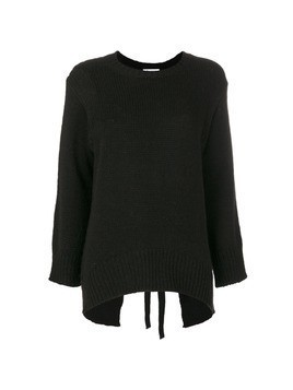 Dondup thick ribbed pullover - Black