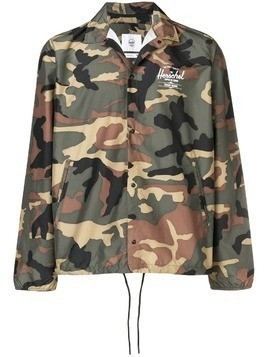 Herschel Supply Co. camouflage wind breaker jacket - Green