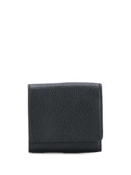 A.P.C. trifold pebbled leather wallet - Black