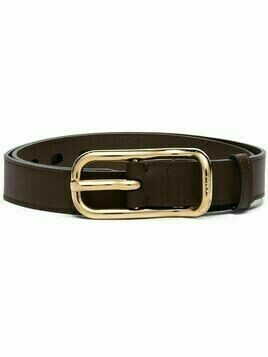 Chloé adjustable thin belt - Brown