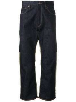 Junya Watanabe Man X Levi's panelled jeans - Blue